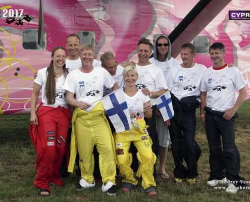 Finnish National Record 80-way, SE 2017                 #CYPRES #PerformanceDesigns #SunPath #Alti2 #Aerodyne #AndreyVeselov #Skyphotoru #