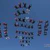 Random 64, Skydive City Z-Hills, USA 2016  #Cypres #SequentialGames #PerformanceDesigns #SunPath #Aerodyne #Alti2 #AndreyVeselov #Skyphoto #