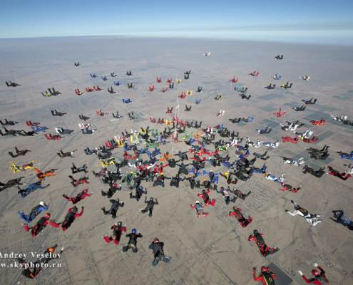 219-way 2 points Sequential World Record, Arizona-Eloy USA            #Aerodyne #AndreyVeselov #Skyphotoru #